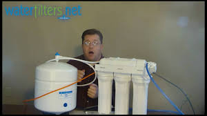 How To Change Reverse Osmosis Filters Reverse Osmosis System Troubleshooting Youtube