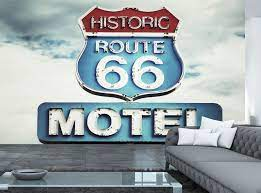 Route 66 USA Photo Wallpaper Wall Mural ...