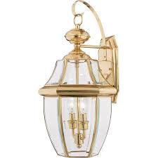 20 Inch Outdoor Wall Lights Details About Quoizel Ny8317b Newbury 2 Light 20 Inch Polished Brass Outdoor Wall Lantern