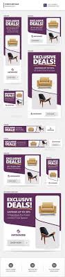 Furniture Sale Banners Bundle 3 Sets Banners Sale banner and Ads