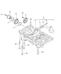 2009 dodge caliber balance shaft oil pump assembly diagram i2230113