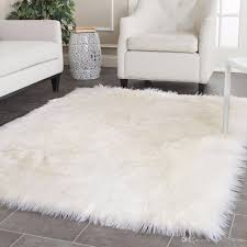 white faux sheepskin rug long faux fur blanket decorative blankets for bed carpet floor mat rugs and carpets for living room broadloom carpet shaw