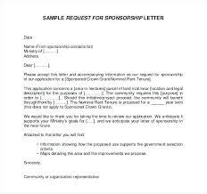 Cover Letter Sponsorship Image Result For Sponsorship Application Template Cover