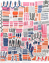 Print And Pattern Stunning Seattle Artist Melanie Biehle Commercial Art Editorial Surface