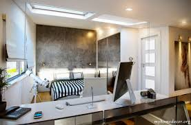 beautiful home office. Briliant Design White Black Home Office Bedroom Beautiful