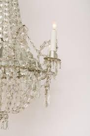 french six light crystal chandelier in excellent condition for in houston tx