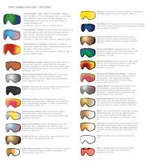 Oakley Lens Tint Chart Bedowntowndaytona Com