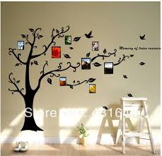 >attractive tree wall art decals vinyl sticker composition wall art  beautiful tree wall art decals vinyl sticker vignette wall art