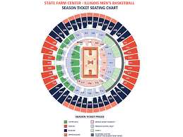 Illinois Seating Chart Football Seating Charts State Farm Center