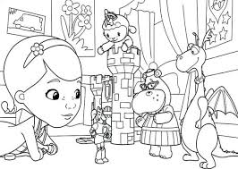 Disney Junior Halloween Coloring Pages Mvlc
