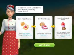 The Sims Mobile- Sweet Treat Showdown Event – The Girl Who Games