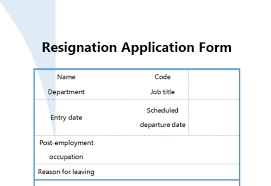 Reason For Leaving Job On Application Form Wps Template Free Download Writer Presentation