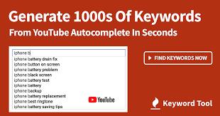 YouTube Keyword Tool (FREE) ᐈ Tags List, Video Ideas, Views
