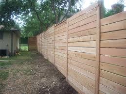 horizontal wood fence diy. New Fence Looking Straight Towards Potting Area Horizontal Wood Diy