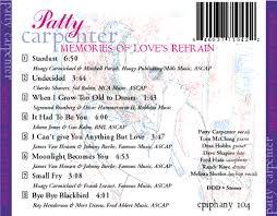 PATTY CARPENTER: Memories of Love's Refrain