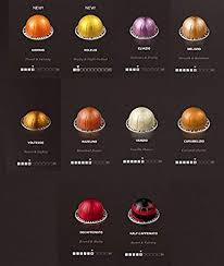 Nespresso Vertuoline The Mild Sampler Coffee Espresso Capsules Pods One Capsule Of Each Mild Coffee Flavor Blend For A Total Of 10 Capsules