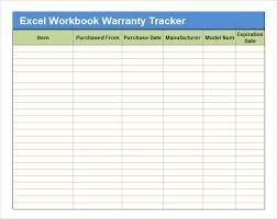 Excel Workbook Template Sample Excel Tracking 7 Documents In Excel