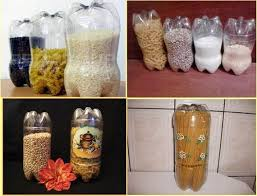 How To Use Waste Bottles For Decoration