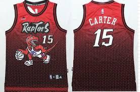 Jersey Carter Raptors 15 Nhl Resonate Vince Fashion Nfl Toronto Nba Jerseys Red black