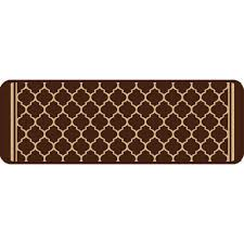 multy home gardengate chocolate 9 in x 26 in stair tread cover