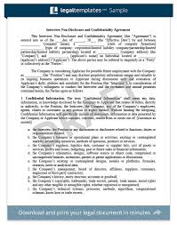 Mutual Confidentiality Agreement NonDisclosure Agreement Template Library Legal Templates 48