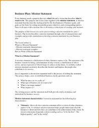 Mission Statement Example 9 Mission Statement Outline Tripevent Co