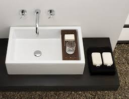 Square Bathroom Basins Genuine Fireclay