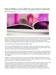 love letter guide for s