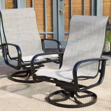 outdoor sling chairs. Belham Living Winston Savoy 5 Piece All Weather Wicker Patio Dining Set Outdoor Sling Chairs R