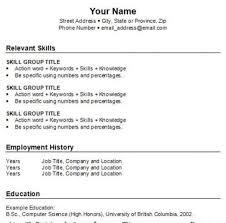 How To Do Resume. Free Resume Templates.