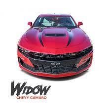 2019 2020 Chevy Camaro Spider Stripes Hood Spear Widow Decals Vinyl Graphics Kit Chevy Camaro Vinyl Graphics Camaro