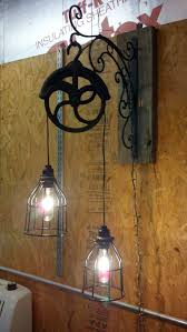 old industrial lighting. Large Size Of Lighting:marvelous Old Industrial Lighting Images Inspirations Light Fixture Made From Pulley O