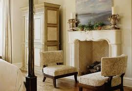 this scenario is very similar to ours if the mantel and firebox were not there it would be difficult to detect a masonry fireplace behind the wall