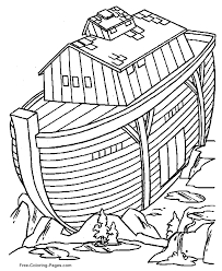 Small Picture Noahs Ark coloring pages