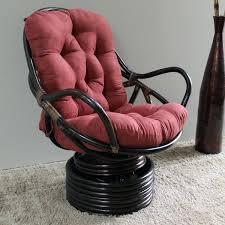 rattan swivel rocker international caravan with cushion bamboo rocking chair rattan swivel rocker wicker chair