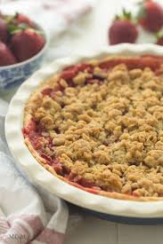 Best Pie Recipes Streusel Topped Fresh Strawberry Pie Recipe Video