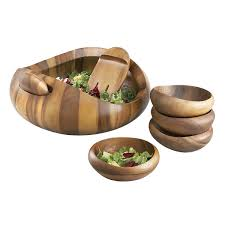 nambe salad bowl nambé nambé wood and glass salad bowls made