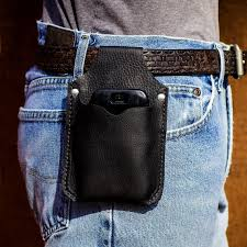 small phone holster cell phone case holster phone case image 0