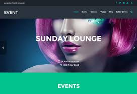 Event Responsive Theme For Bands Nightclubs Restaurants