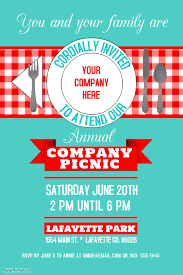 Picnic Template Company Picnic Template Postermywall