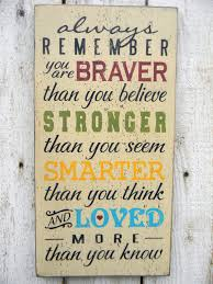 Winnie The Pooh Love Quotes 54 Best Always Remember You Are Braver Than You Know Winnie The Pooh