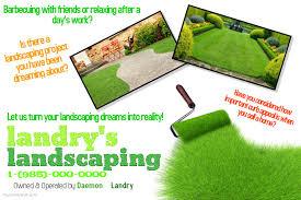 lawn care templates garden flyers ohye mcpgroup co