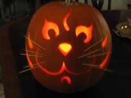 Cat Jack O Lantern Pattern Simple Ideas