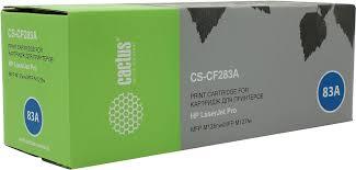 Тонер-<b>картридж Cactus CS</b>-CF283A, черный, для лазерного ...