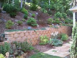 how build concrete block patio wall modern stone retaining landscaping asheville ideas designs decor design trends