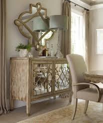 Mirror Furniture Sanctuary Two Door Mirrored Console By Hooker Furniture Door