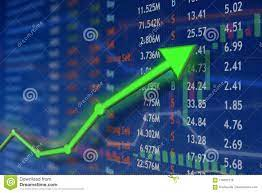 Investing And Stock Market Concept Gain ...