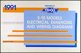 1991 chevy s 10 pickup & blazer wiring diagram manual original 1990 chevy truck wiring diagram at 91 Blazer Wiring Schematic