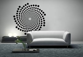 Small Picture Spiral Wall Decal Awesome Retro Design Stciker
