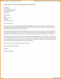 Salary Requirement Cover Letter Discreetliasons Com 15 How To Write A Salary History Proposal